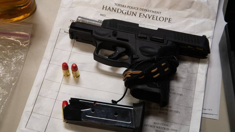 Shawnee Co. DA Mike Kagay says stolen, legal guns are being used in many violent crimes in the...