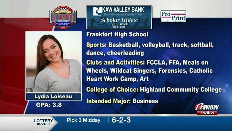 Scholar-Athlete of the Week: Frankfort's Lydia Loiseau