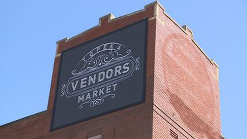 Topeka Vendors Market building on SE Adams. (March 19, 2021)