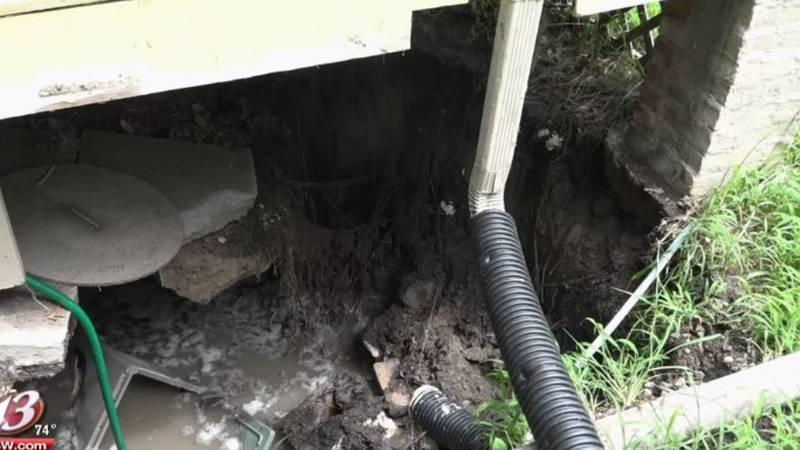Sinkhole in Topeka