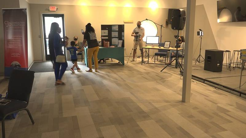 Black Entrepreneurs of the Flint Hills vendor fair