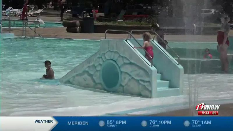 Blaisdell provides safety tips when planning to attend the pool in hot temperatures