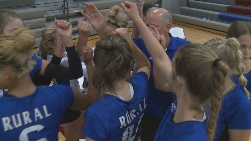 The undefeated Washburn Rural volleyball team has claimed another Centennial League Title on...