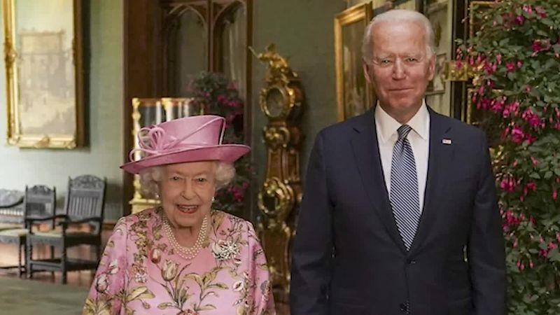 Biden is the 13th sitting U.S. President to meet Queen Elizabeth II, 12 of whom she met during...