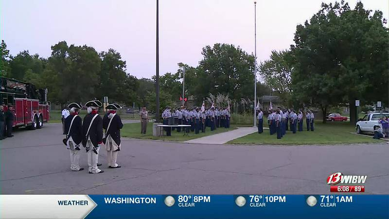 Topeka West honors those who lost their lives in 9/11