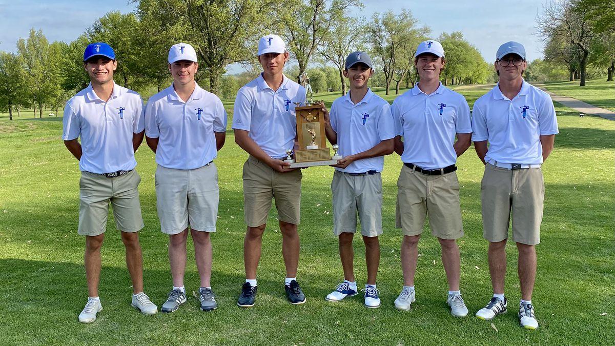 WRHS golf wins Centennial League Tournament; Leonetti takes individual title