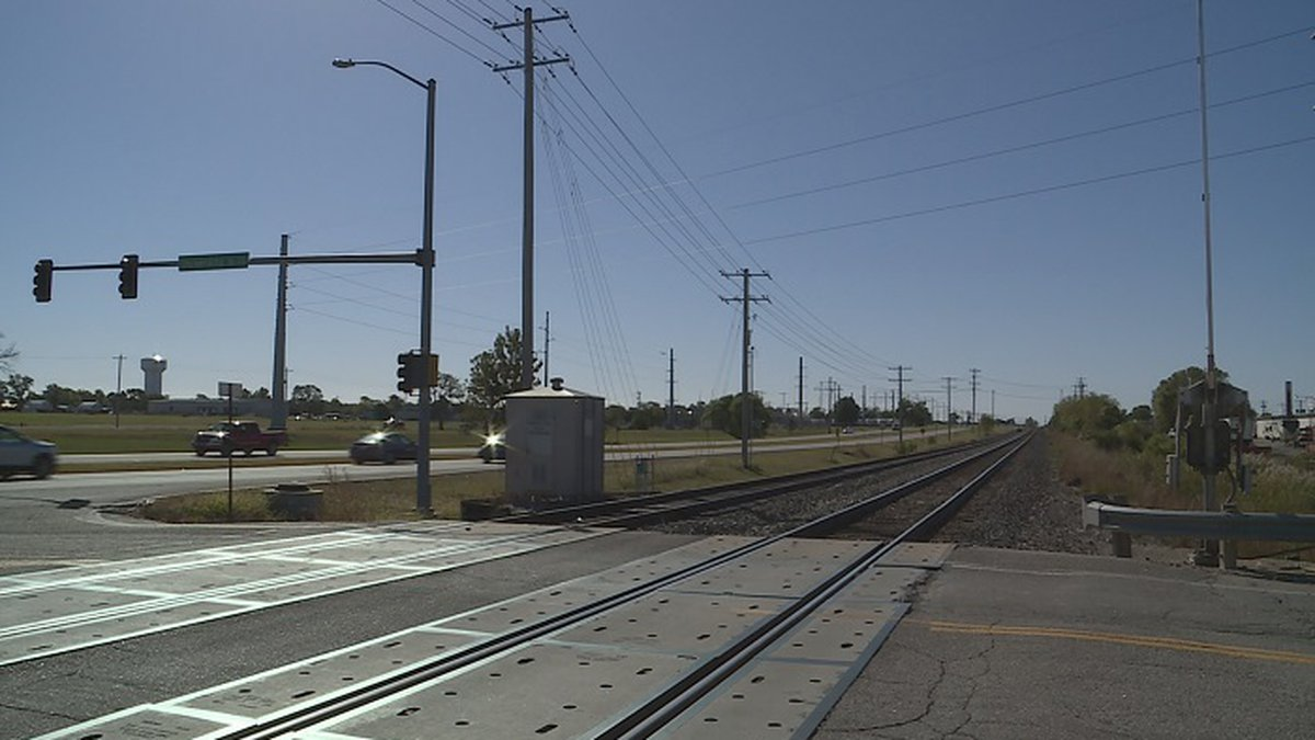 A portion of railroad tracks to be removed starting next week.