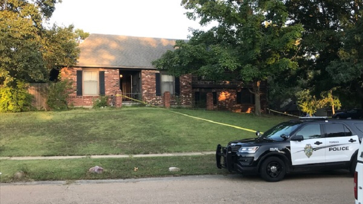 Topeka Police say a person was found dead Wednesday, Sept. 8, 2021, inside a home at 3444 SW...