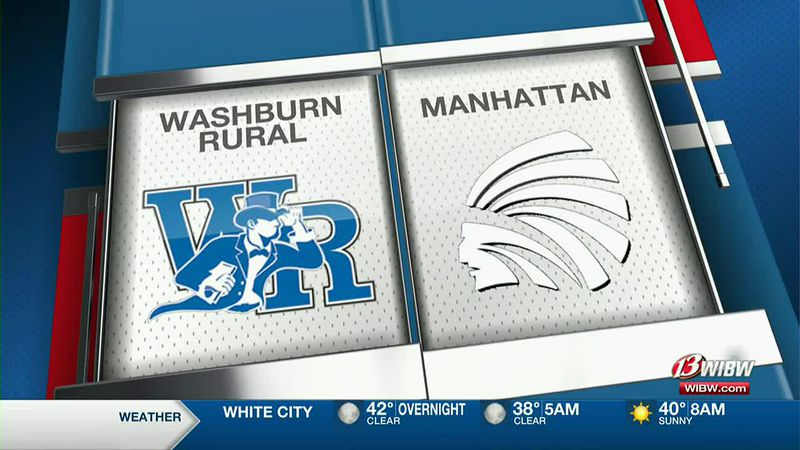 6A girls sub-state: Washburn Rural 50, Manhattan 36
