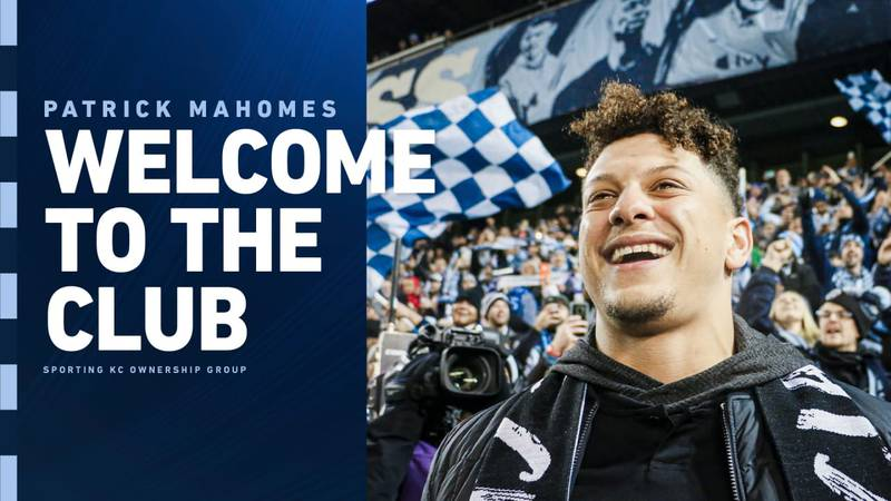 Patrick Mahomes joins the Sporting KC ownership club.