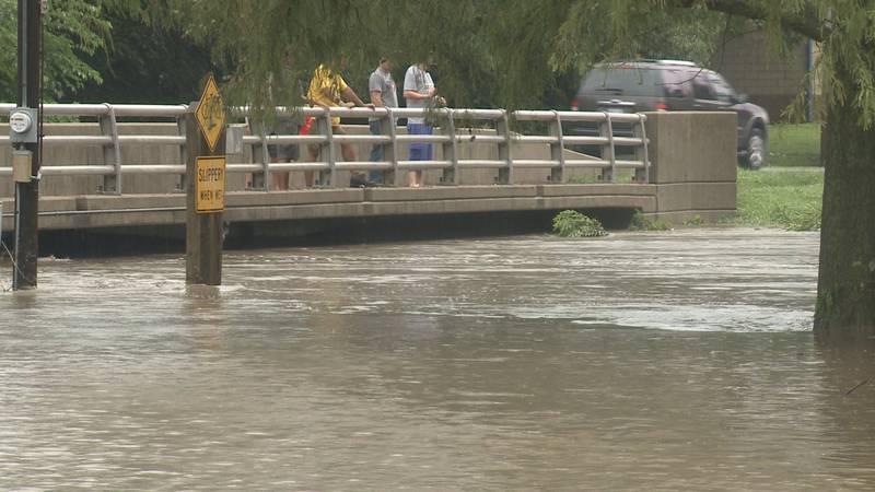 Shunga Creek flooding
