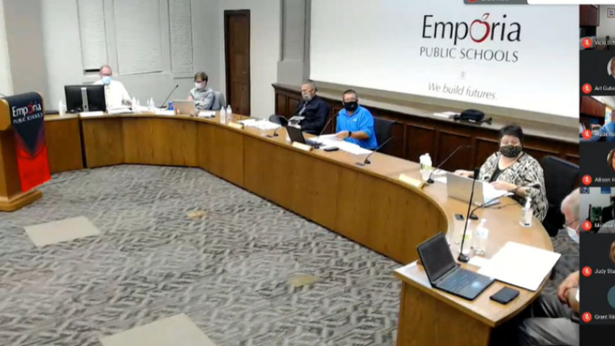 The Emporia Unified School District 253 Board of Education approved starting the 2020-21...