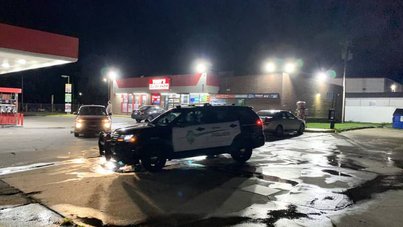 Topeka police were investigating a shooting early Friday outside Tony's Quick Shop at 1107 S.W....