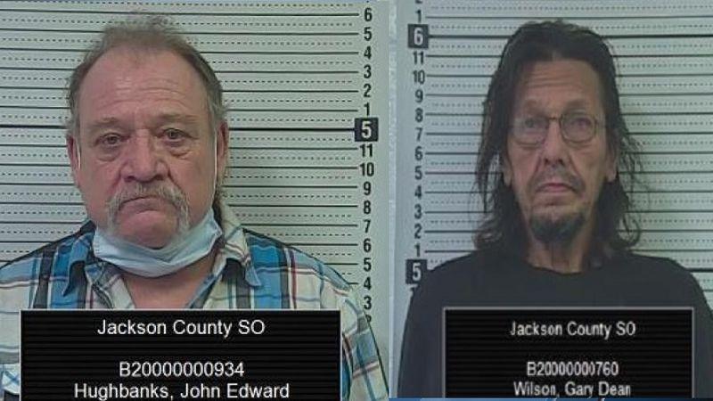 Gary Wilson, John Hughbanks (Jackson Co. Jail)