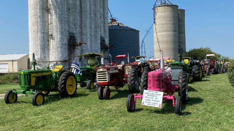 The annual NE Kansas Tractor Cruise in Brown, Atchison and Doniphan counties benefits the...