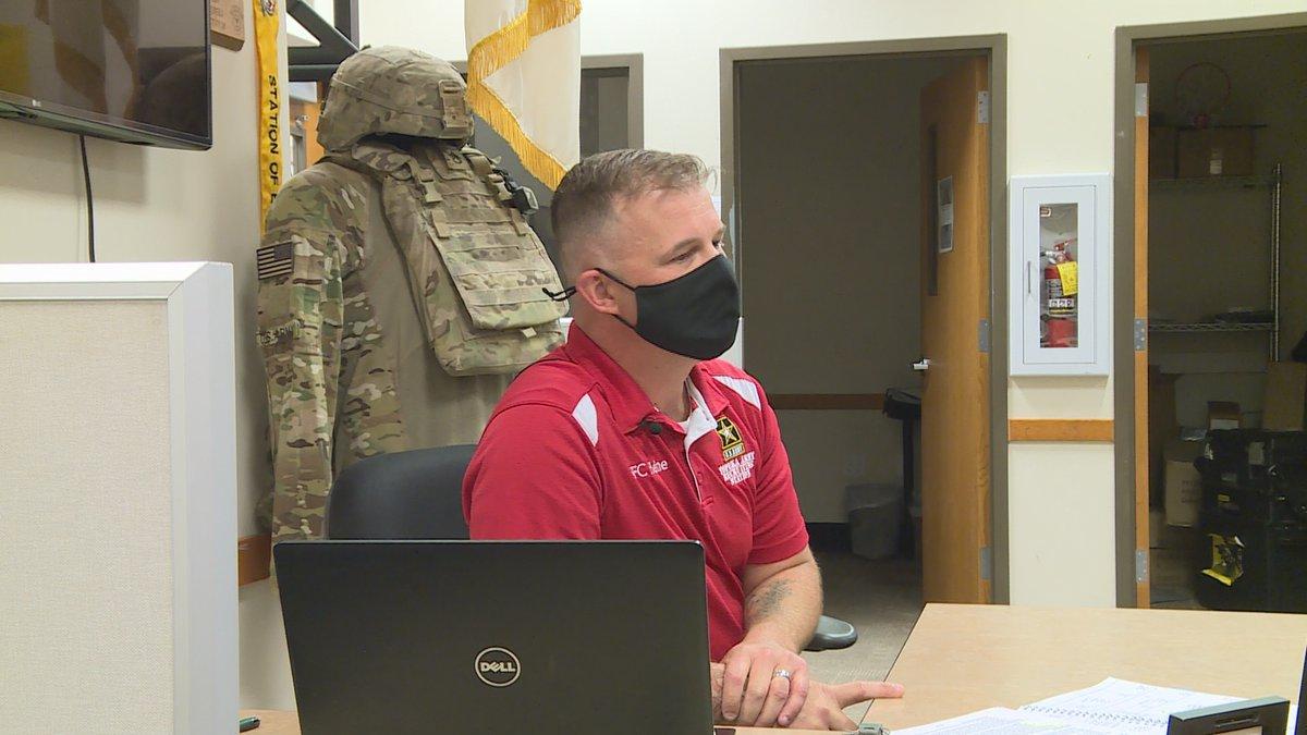 US Army Topeka Station Commander SFC Tim Heine.