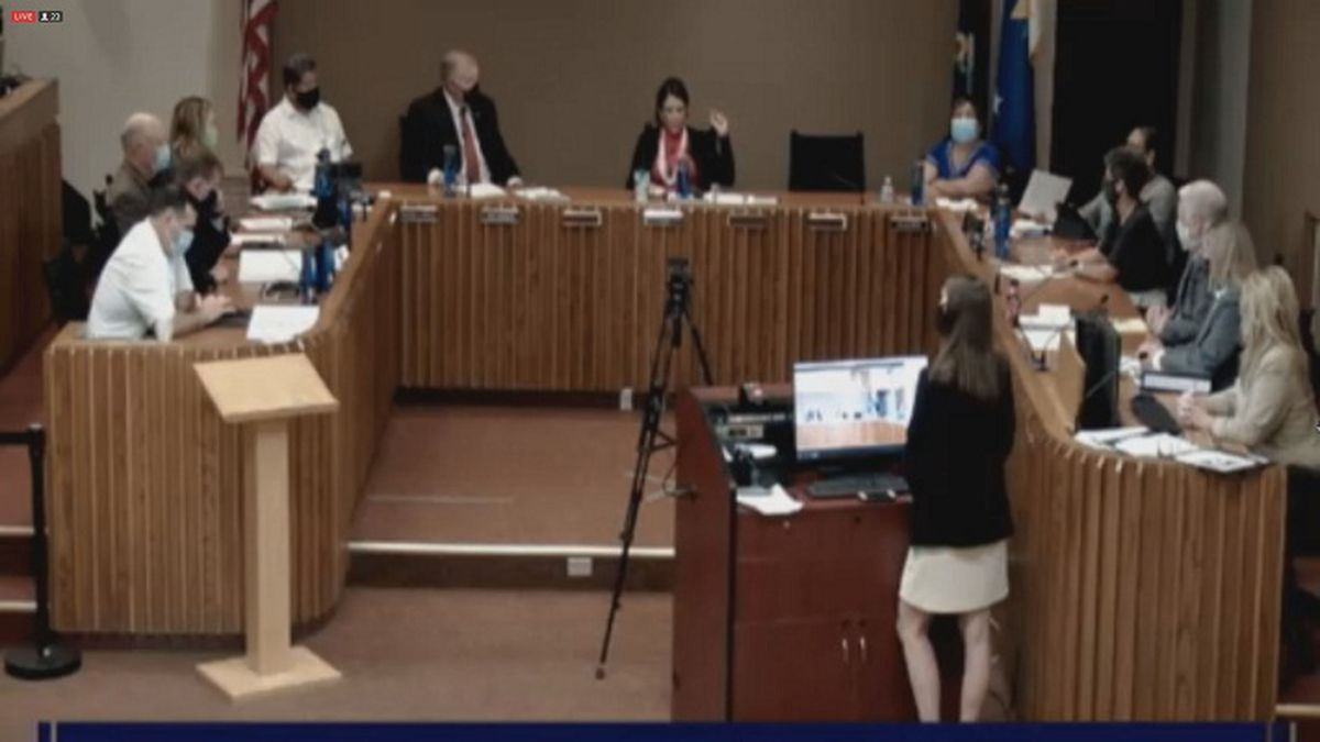 The Topeka City Council meets on 9/1/2020.