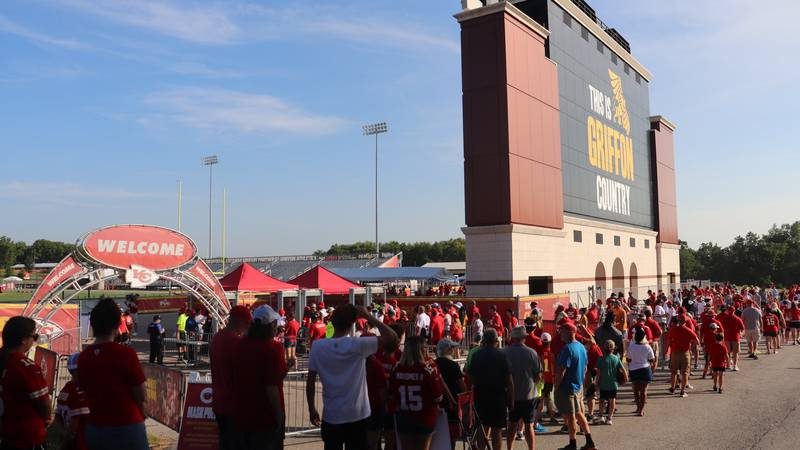 """Chiefs fans return to training camp: """"The Kingdom is back together"""""""