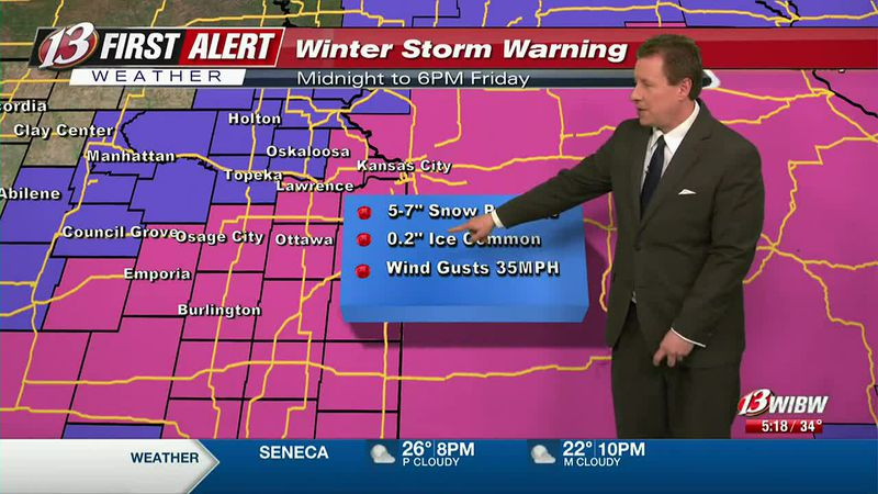 Winter Storm Warning New Year's Day