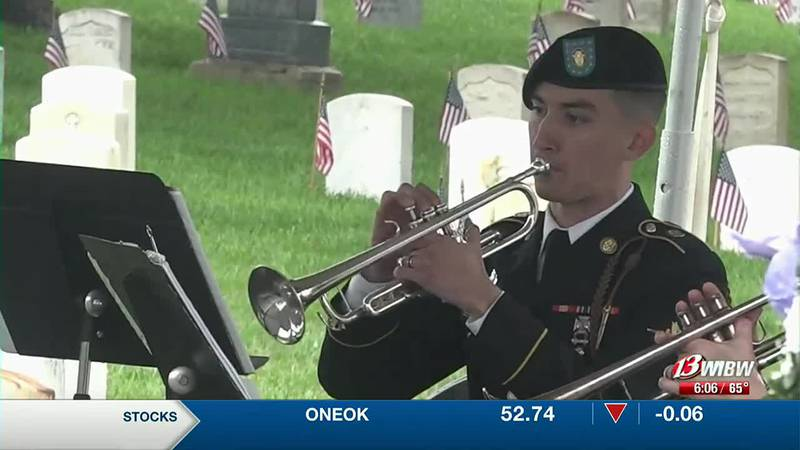 Fort Riley goes on with its ceremony to those who served