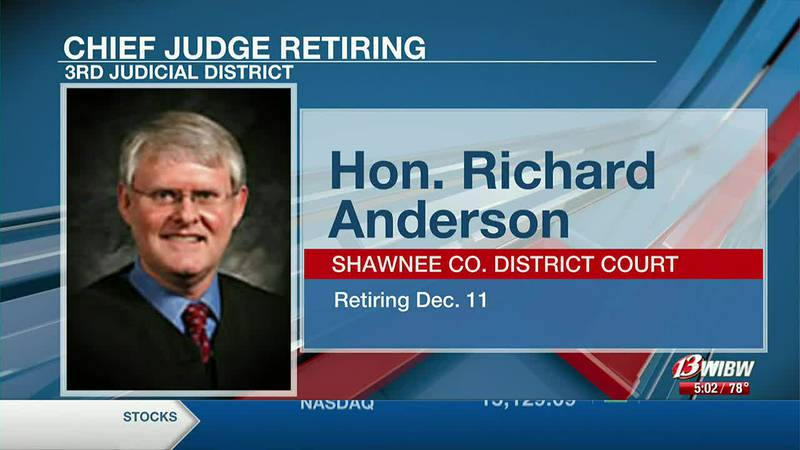 Shawnee Co. says goodbye to Chief Judge
