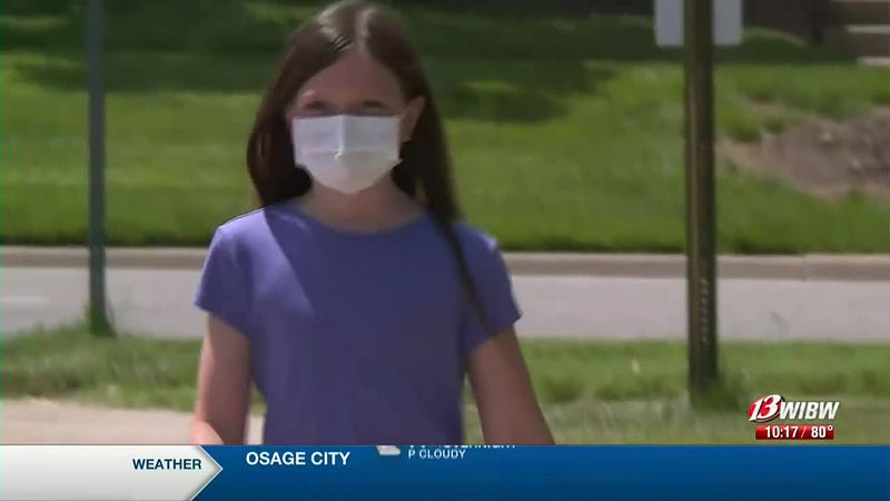 At age 8, Kaydence has beaten cancer twice, and she's using her experience to help other kids.