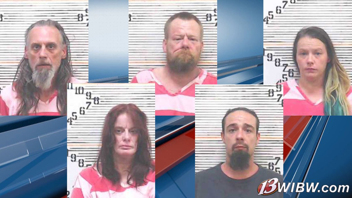 Top: Ronald Clauson (left), Jeff Davis (center), Ashley Rhyne (right).  Bottom: Kimberly Wagner...