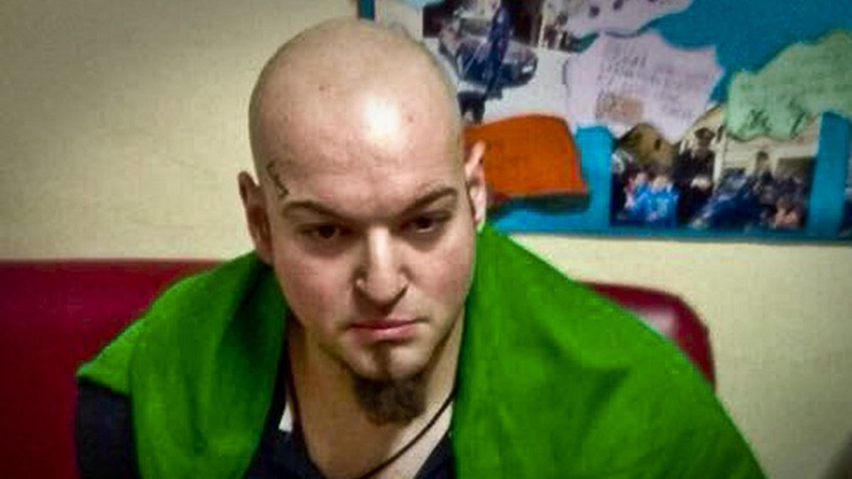 A picture showing a man identified by the Italian Carabinieri, paramilitary police, as Luca...