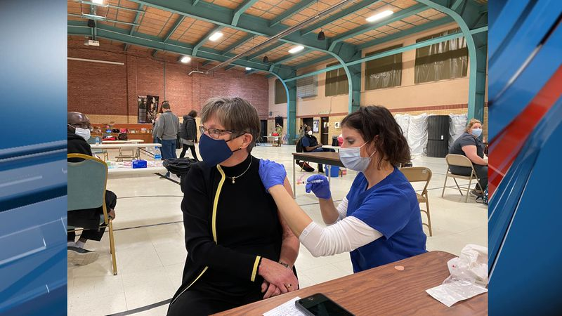 Governor Laura Kelly has received her second dose of the Moderna vaccine.