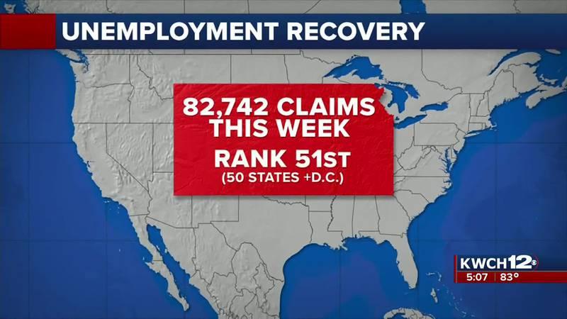 Kansas unemployment ranks 51st