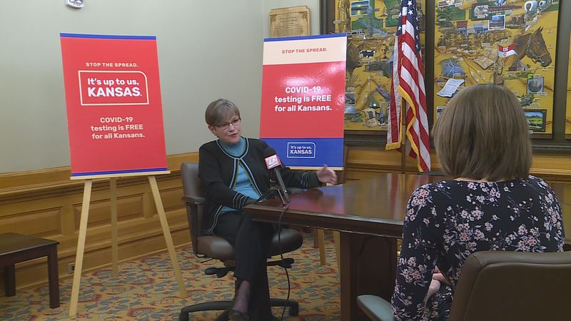 Gov. Kelly sits down with 13 NEWS to discuss COVID-19 public health campaign