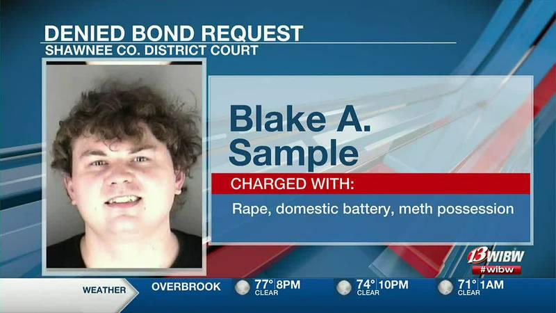 Blake Sample Charged With Rape