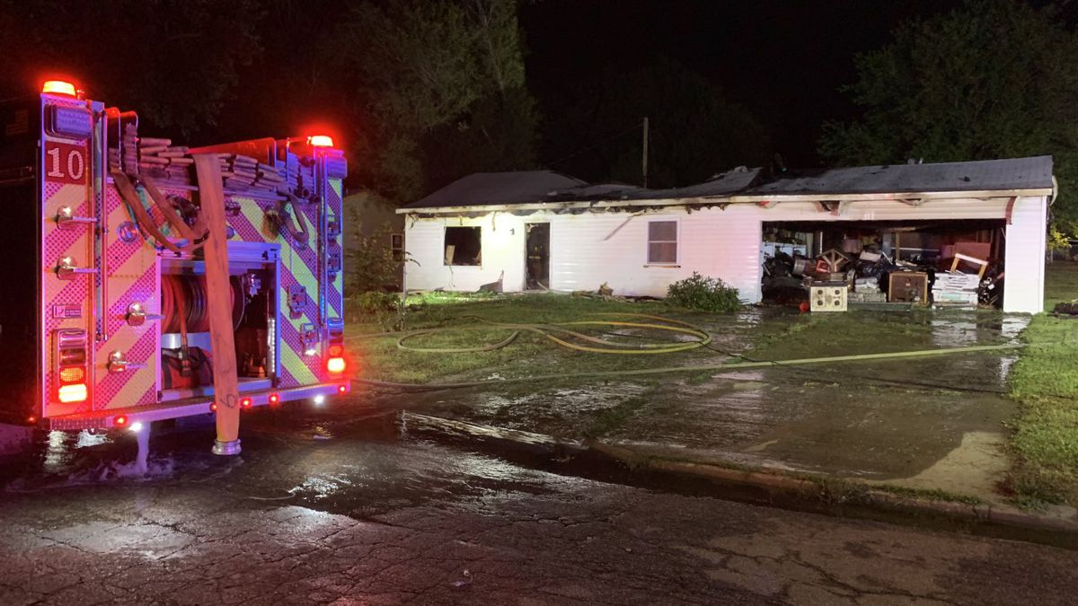 An early-morning fire on Thursday destroyed a house at 3380 S.E. Girard, authorities said.