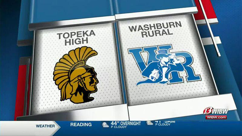 Topeka High softball pulls off the sweep against Washburn Rural