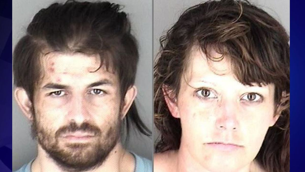 Clay Sanford III and Kayla Price were arrested on charges of felony drug possession.