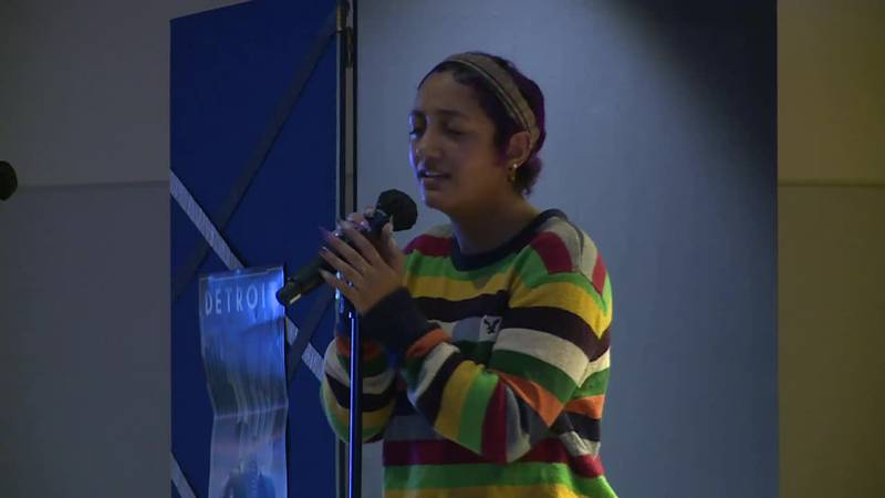 Washburn University host an Open Mic showcasing student talent as part of Homecoming Week...