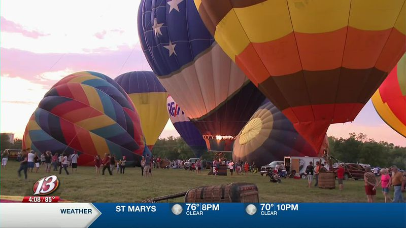 The 45th annual Huff n Puff Balloon Rally will take place Sept. 11-13 in Topeka