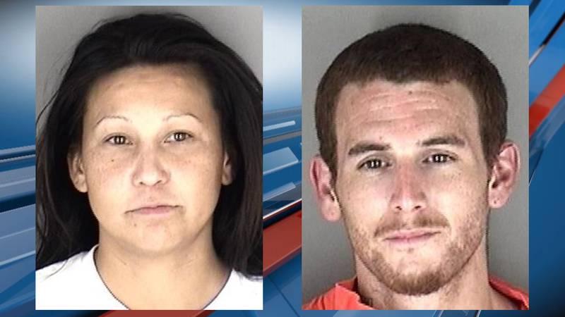 Latosha Mahkuk, 32, of Mayetta, and Gino Vicchiullo, 28, of Topeka were arrested Sept. 15 after...