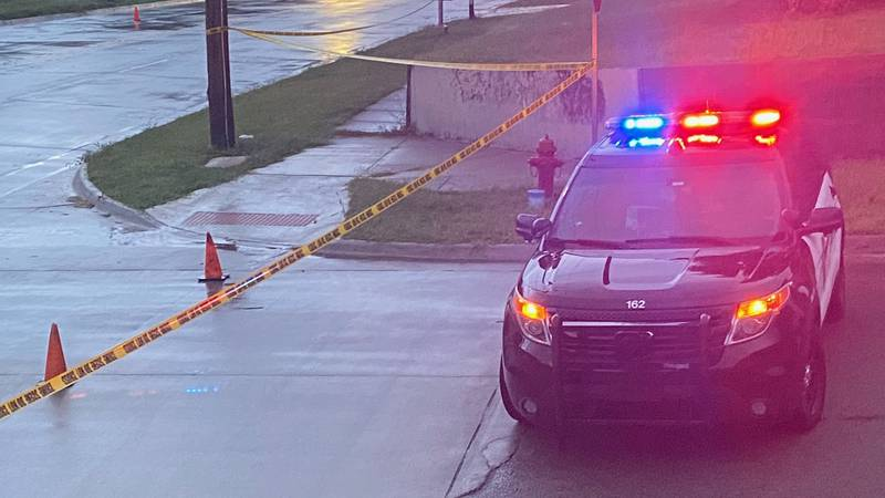 Topeka police were called to the Hi-Crest neighborhood in Topeka on reports of a vehicle vs....