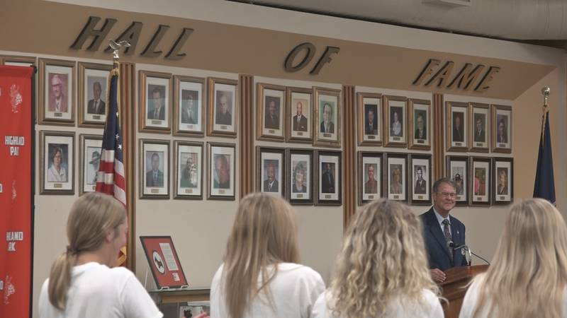 Induction Ceremony held for Highland Park High School Hall of Fame, Sports Wall of Honor