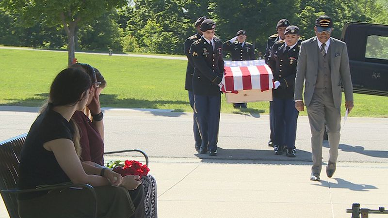Medal of Honor recipient relocated to Leavenworth National Cemetery, receives full military...