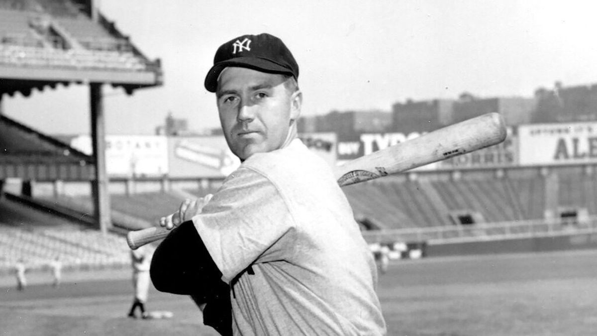 FILE - New York Yankees third baseman Bobby Brown poses at Yankee Stadium in New York, in this...