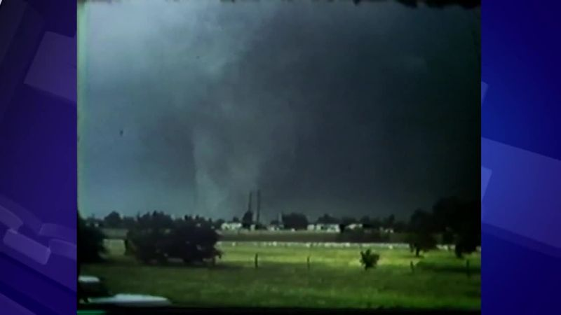 As seen on WIBW during the 50th Anniversary of the 1966 tornado.