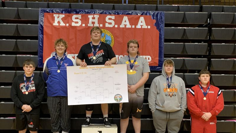 Osage City wrestler Dane Whalen ran the table on the mats this season, finishing an undefeated...