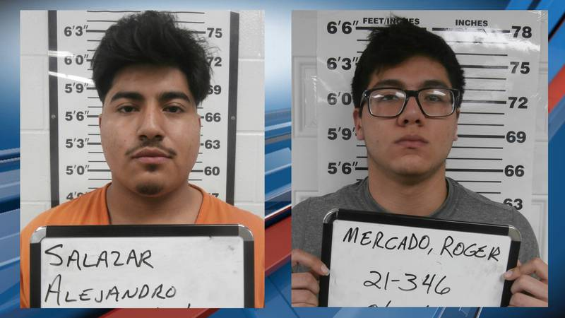 (left) Alejandro Salazar, 19, and (right) Roger Mercado, 19, were arrested Wed. night in SE...