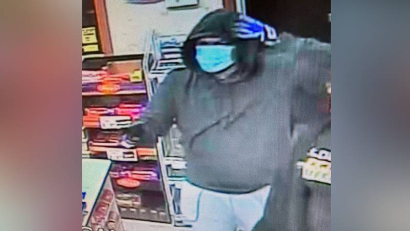 Eudora Police say this man entered the Casey's General Store around 11 p.m. Sunday armed with a...