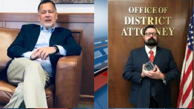 Dan Dunbar (left) is retiring from the Shawnee Co. District Attorney's Office. He will be...