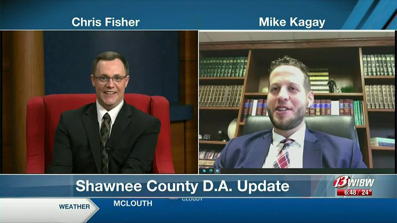 Shawnee Co. District Attorney Mike Kagay sits down with 13 NEWS This Morning 2-25-21