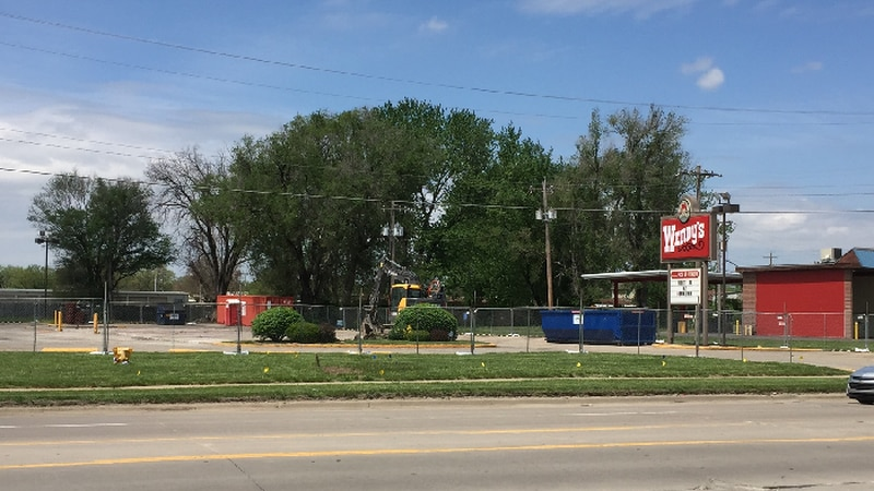 The Wendy's location at 2025 NW Topeka Blvd. is getting a rebuild.