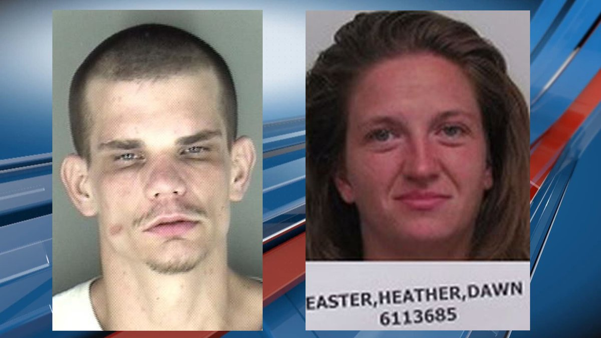 August Jackson IV, (left) was arrested Wednesday after fleeing from a traffic stop.  Heather...